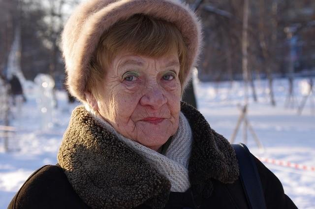 фото старие бабушки в калготах
